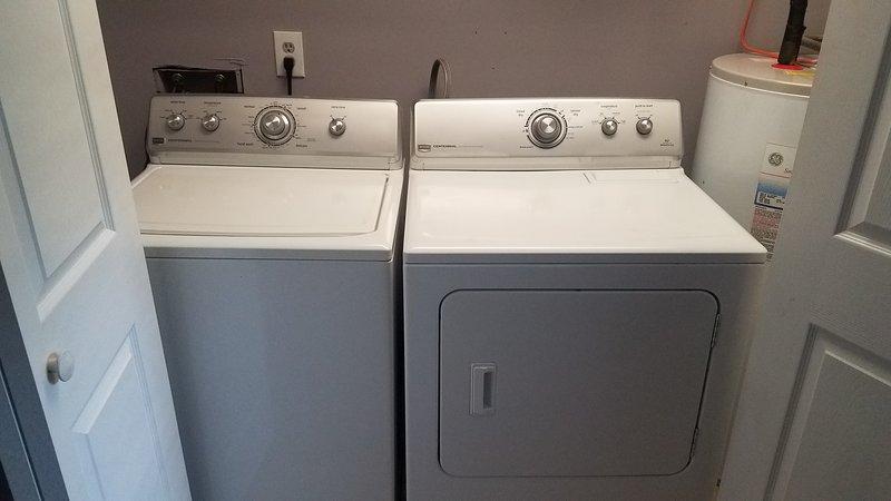 Lavadora e secadora para sua conveniência
