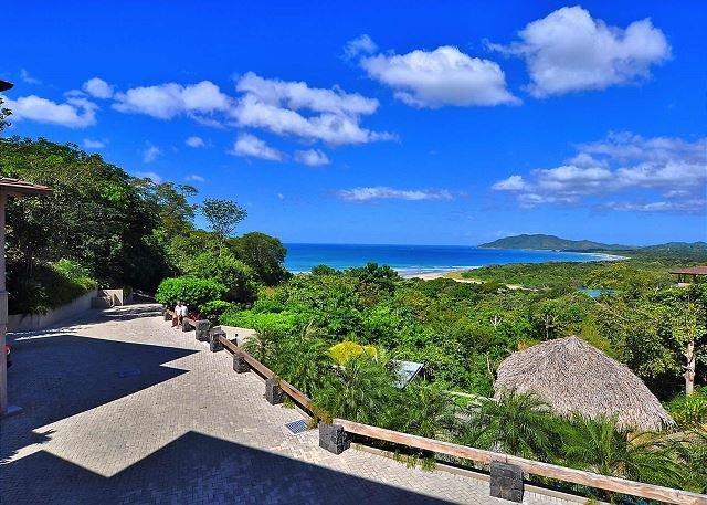 Beautiful ocean view from Villa 3 balcony