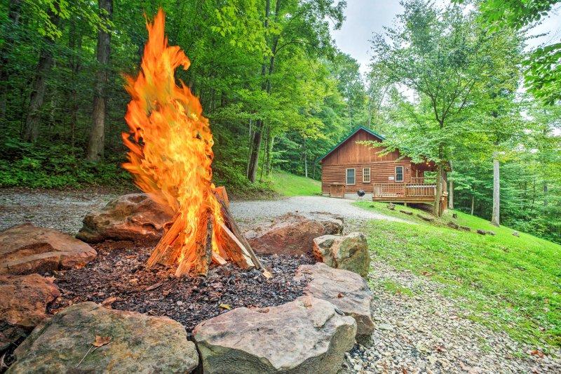 Fuggire dal caos e dalla frenesia della vita quotidiana e trovare la pace quando si soggiornare in questa bella cabina.