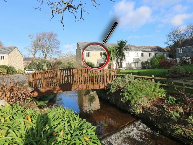 RIVENDELL modern house in holiday village, walk to beach, close to Falmouth, holiday rental in Gweek