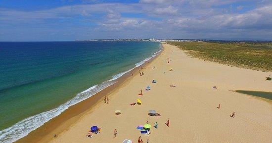 Salgados Beach 2 km