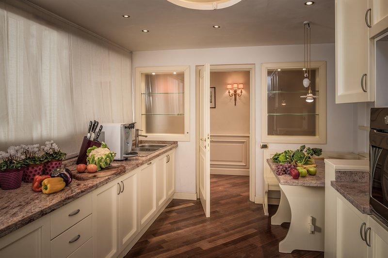 nuestra amplia cocina, donde disfrutar con su familia o sus amigos,