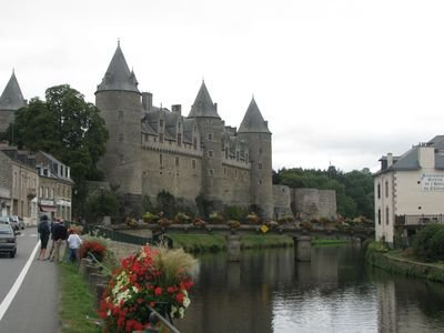 Medieval Château at nearby Josselin.