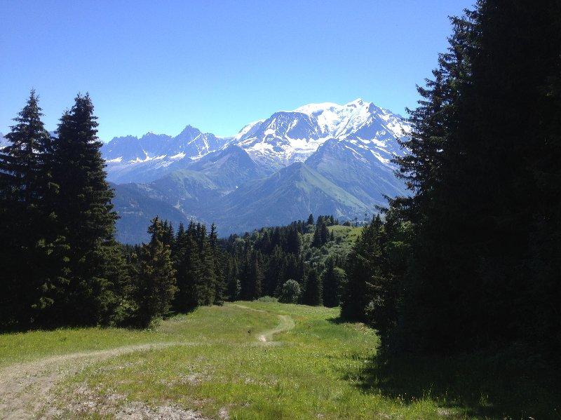 Belle randonnées en montagne en été