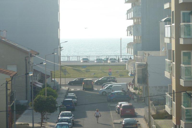 Vue sur la mer de la terrasse