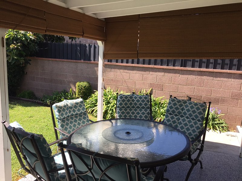 Covered Patio (Shaded if needed)
