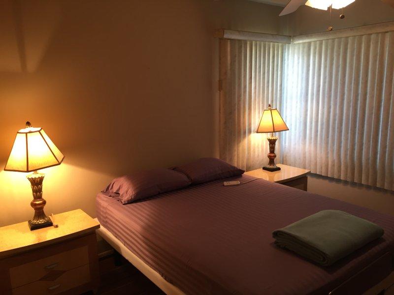 Bedroom #1 w/ Adjustable Bed