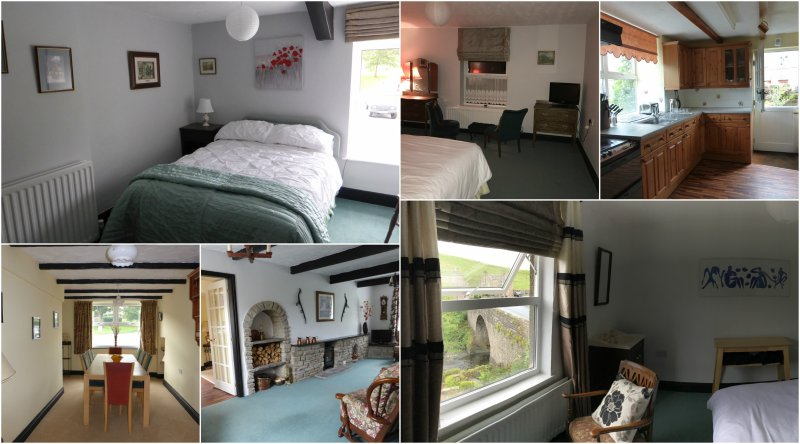 Some of our rooms. Plenty of space for gatherings of family and friends.