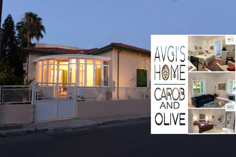 Avgi's Home - Limassol. Carob&Olive Combination Apartments