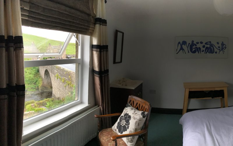 Riverside Room. Overlooking the river and with far reaching views.