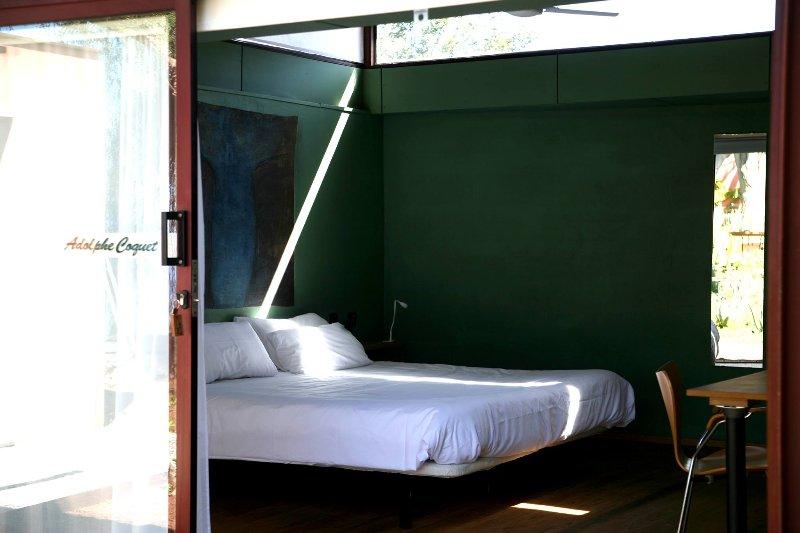 Adolphe Coquet habitación