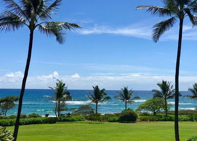 Ocean View from Private Lanai