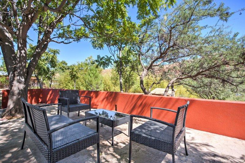 Det bästa av Arizona väntar på detta 1-badrum studio i Corniville!