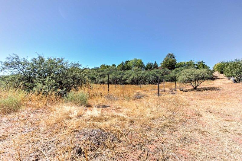 Gå ut och utforska de mogna träd och naturskönhet på denna Arizona-fastighet!