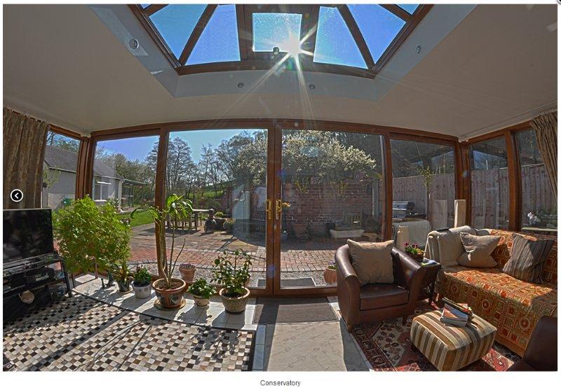 Wintergarten und Garten alle zugänglich für unsere Gäste