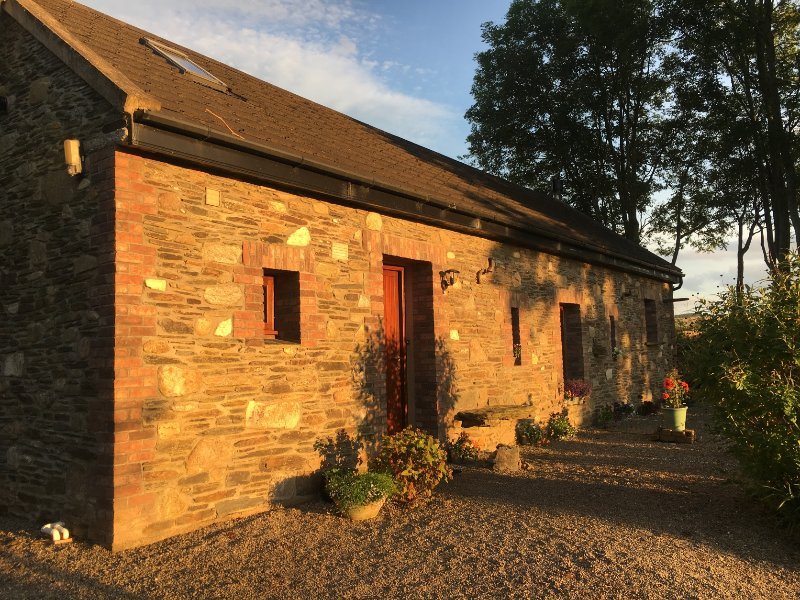Badgers Cottage at sunset