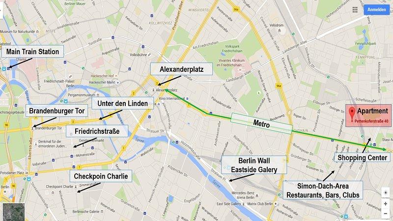 Você está no coração da cidade de Berlim :-)