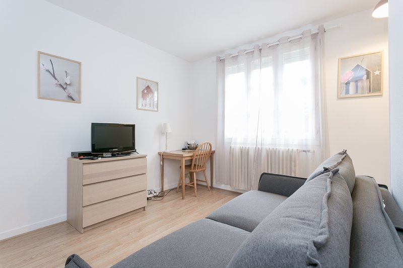 Nice studio near Rueil City Center, with full services, vacation rental in Chatou