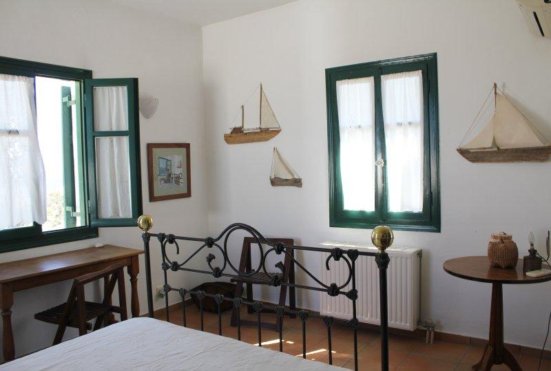 Dormitorio 1 (habitación superior) vista