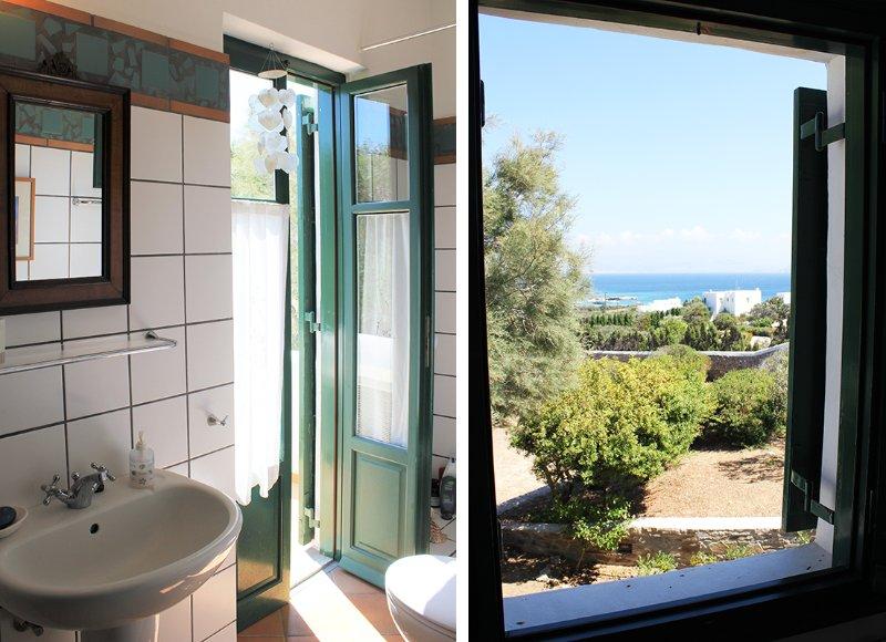 cuarto de baño para el dormitorio 1 - vistas al mar