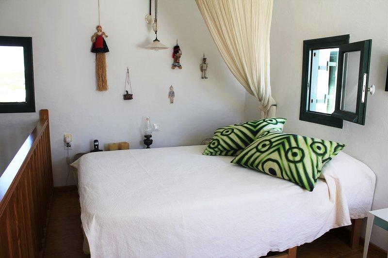 2 dormitorios (dormitorio Estudio) cama doble en el entresuelo