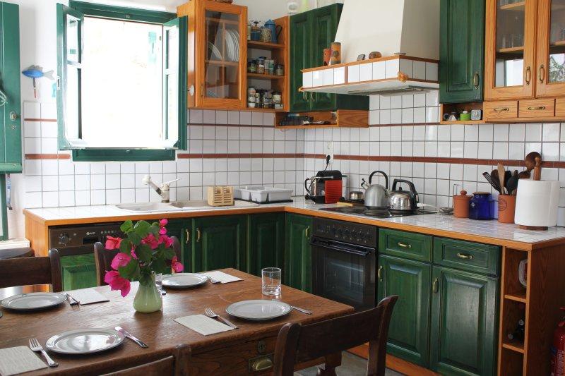 visión general de la cocina