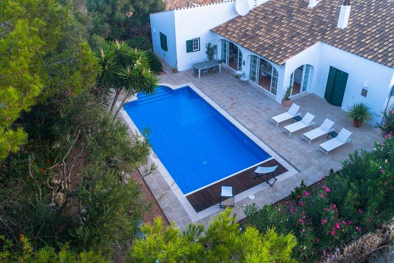 Casa Bonita Menorca vista dall'alto. Foto Mauro Matalone.