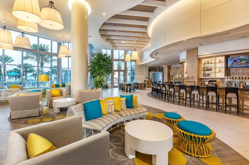 Wyndham Clearwater Beach Resort lobby