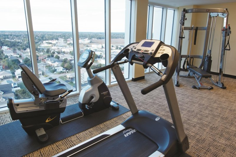 Wyndham Vacation Resort Towers on the Grove fitness area