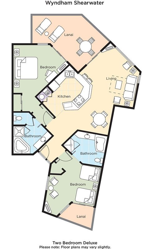 Wyndham Shearwater Floorplan