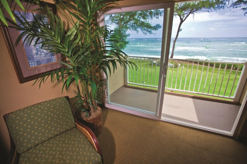 Kauai Coast Resort at the Beachboy balcony