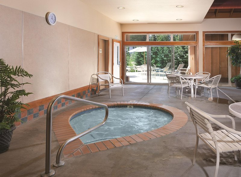 WorldMark McCall indoor hot tub