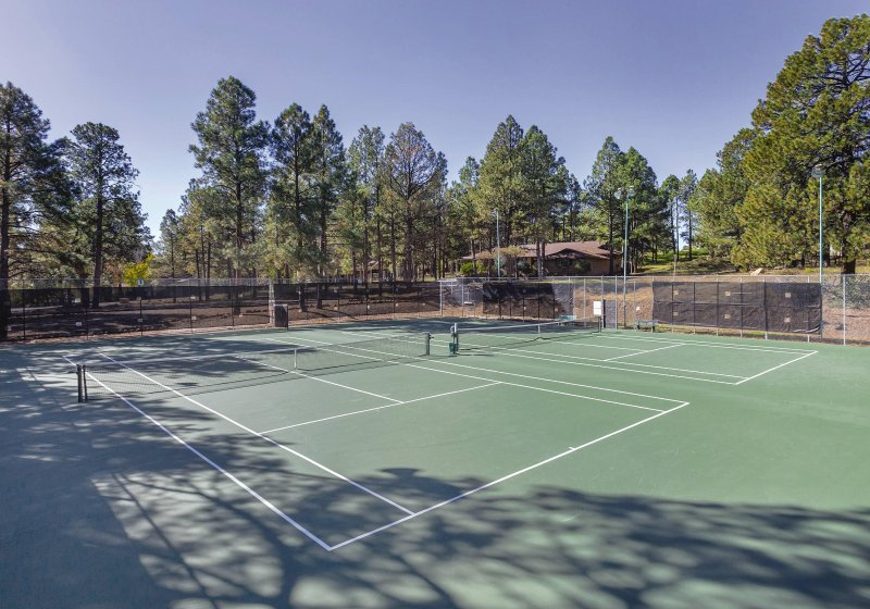 Wyndham Flagstaff tennis court