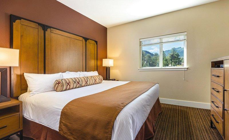 WorldMark Estes Park bedroom