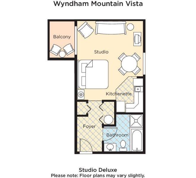 Wyndham Mountain Vista floor plan