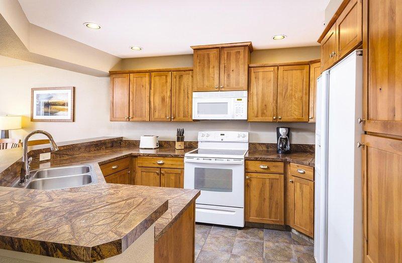 WorldMark Arrow Point kitchen