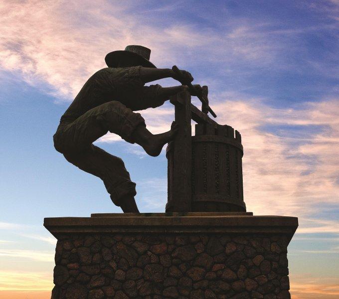 Vino Bello Resort statue