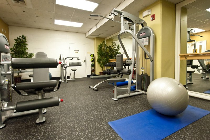 Wyndham Harbour Lights fitness area
