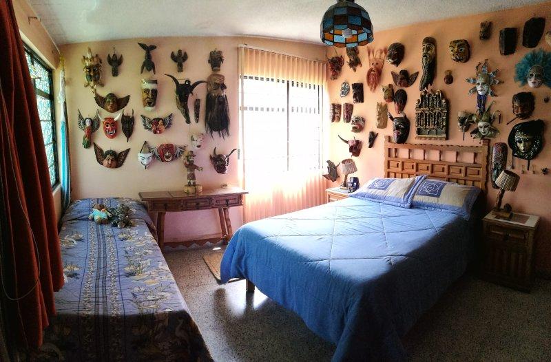Cabaña de los abuelos / Grandpa's cabin, location de vacances à Metepec