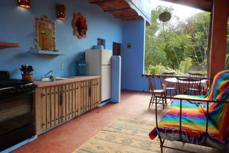 Objectieve blik op de keuken en zithoek