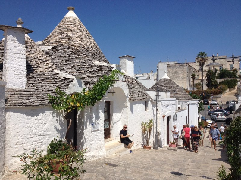 Alberobello is a top tourist destination. Trullo Falco is only 20 mins from this amazing place.