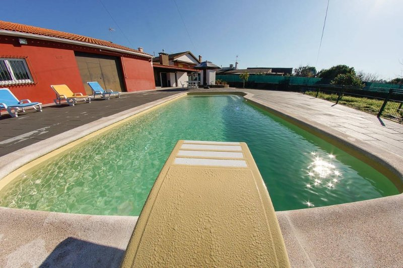 Wonderful Villa with Swimming Pool, holiday rental in Oliveira do Bairro