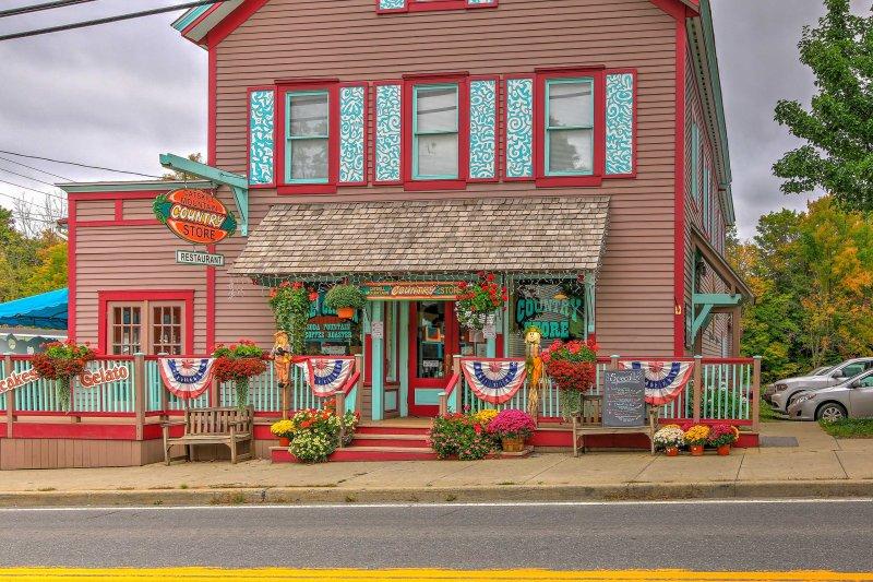 Encontre-se no coração de Tannersville como você fica neste aluguer de férias!