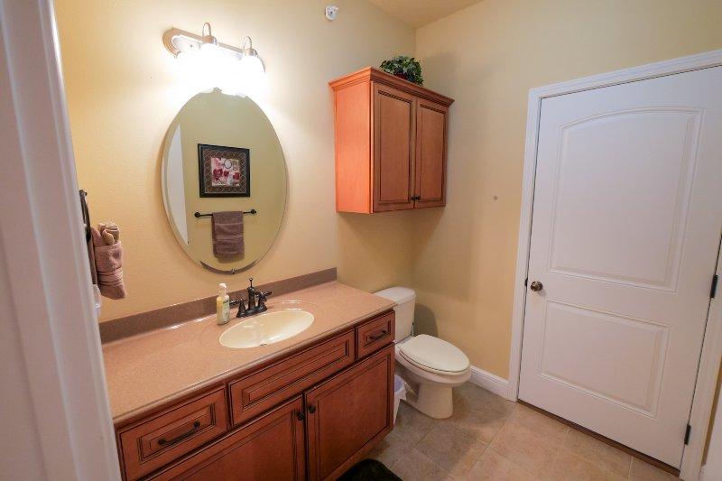 Bathroom next to loft bedroom