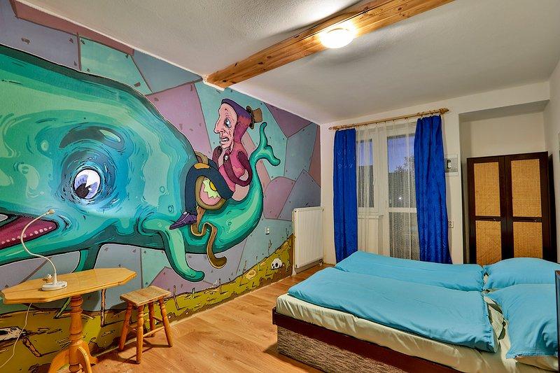 Sala N º 2, la pared pintada por artistas jóvenes