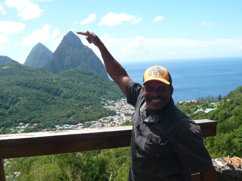 Let us take you on a tour to view the Pitons and the volcano