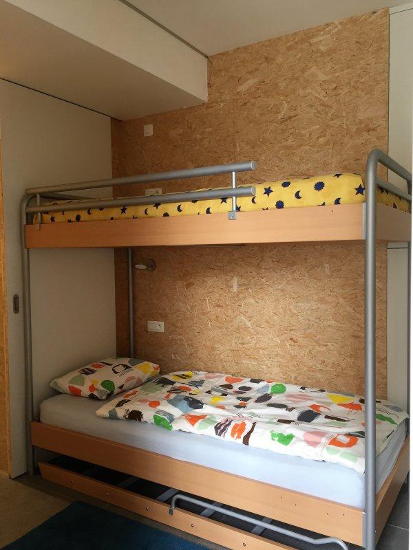 Bedroom 2: bunk beds