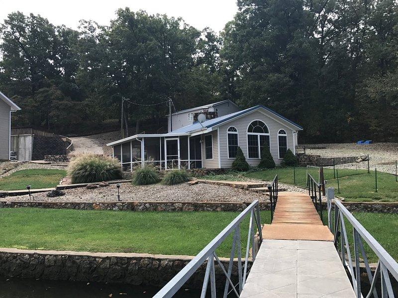 La cabaña en el Blue Lane Cove