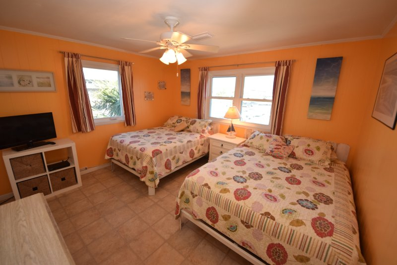 Bedroom With Queen And Full Bed