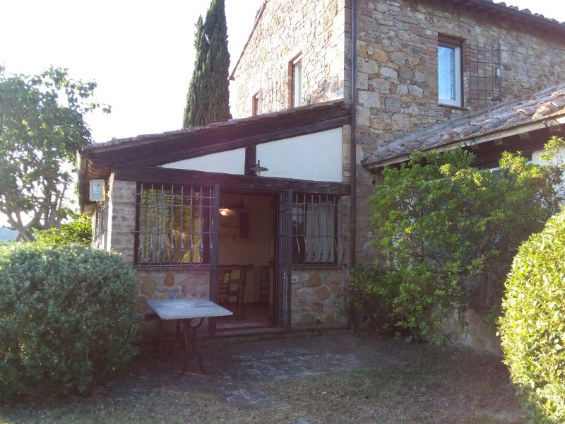 Charming Cottage in Country Villa in Val d'Orcia – semesterbostad i Chianciano Terme